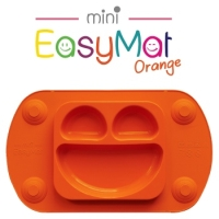 EasyMat®mini - silikonový krmící talíř - oranžový 06bc023d640