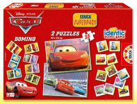 Superpack Cars - puzzle, pexeso, domino