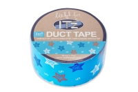 IT'z Duct Tape LIEF blue star - 48 mm x 10 m - SKLADEM