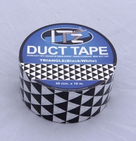 IT'z Duct Tape Traingle Black - 48 mm x 10 m SKLADEM