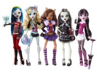 Monster High Příšerky Monster 2011