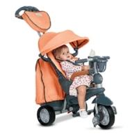 šedo-oranžová tříkolka Explorer Orange 5v1 360 3ecd3d189ec