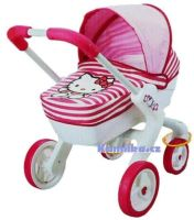 Hluboký kočárek Hello Kitty Pop Pram