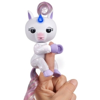 Original WowWee®-Fingerlings® - Light Up Glitter Unicorn