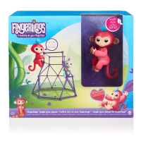 Original WowWee®-Fingerlings® Set s 1 opičkou - Jungle Gym